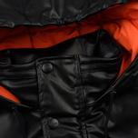 Мужская куртка MSGM Puffer Embroidered Logo Black фото- 3