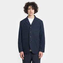 Мужская куртка Nanamica Coverall House Heck Navy фото- 2