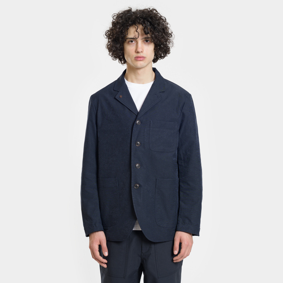 Мужская куртка Nanamica Coverall House Heck Navy