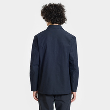 Мужская куртка Nanamica Coverall House Heck Navy фото- 4