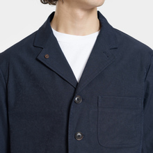 Мужская куртка Nanamica Coverall House Heck Navy фото- 3