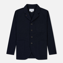 Мужская куртка Nanamica Coverall House Heck Navy фото- 0
