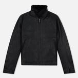 Мужская куртка Nanamica Leather Cruiser Black фото- 0