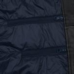 Мужская куртка Nanamica Leather Cruiser Black фото- 4