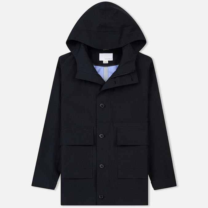 Мужская куртка Nanamica Gore-Tex Cruiser Secret Zip Pocket Black
