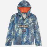 Мужская куртка анорак Napapijri Rainforest All Over Fantasy Multicolor фото- 0