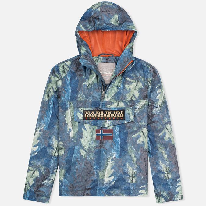 Мужская куртка анорак Napapijri Rainforest All Over Fantasy Multicolor