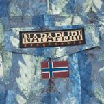 Мужская куртка анорак Napapijri Rainforest All Over Fantasy Multicolor фото- 3