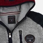 Мужская куртка Napapijri Yupik Winter Grey/Blue/Navy фото- 1