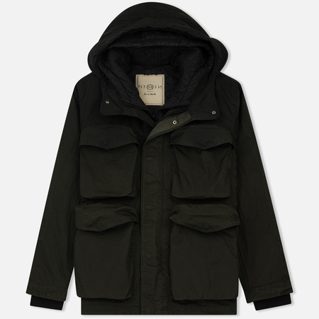 Мужская куртка Nemen Multipocket Gradient Military Green/Ink Black