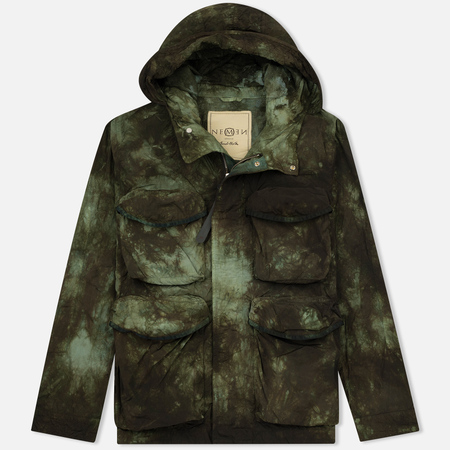 Мужская куртка Nemen Multipocket Tie Dye Military Green Tones