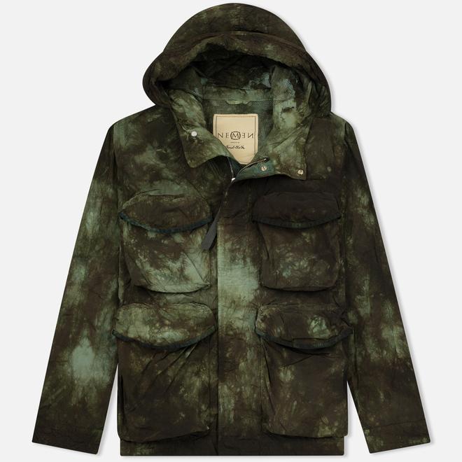 Мужская куртка Nemen Multipocket Tie Dye Military Green Tones