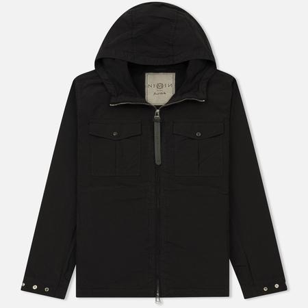 Мужская куртка Nemen Vilar Hooded Overshirt Ink Black