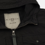 Мужская куртка Nemen Vilar Hooded Overshirt Ink Black фото- 2