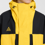 Мужская куртка Nike ACG Gore-Tex Hooded Amarillo/Black фото- 3