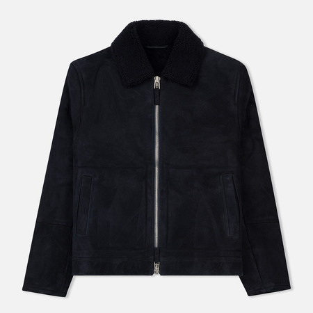 Мужская куртка Norse Projects Elliot Shearling Dark Navy