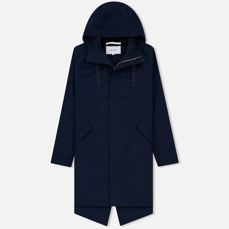 Мужская куртка Norse Projects Halmstad Cotton Dark Navy