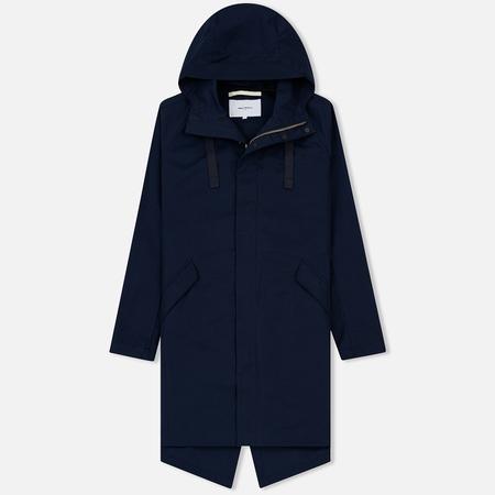Мужская куртка Norse Projects Halmstad Cotton Dark Navy