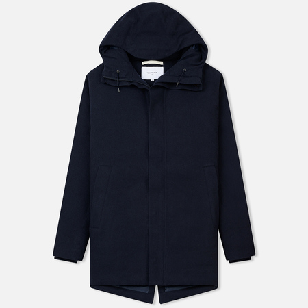 Мужская куртка Norse Projects Rokkvi 4.0 Gore-Tex Waterproof Wool Dark Navy
