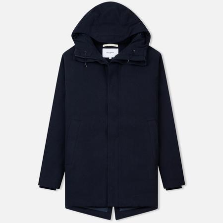 Мужская куртка Norse Projects Rokkvi 4.0 Gore-Tex Waterproof Wool Dark Navy