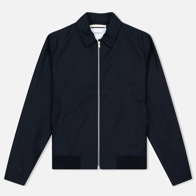 Мужская куртка Norse Projects Trygve British Merino Navy Melange