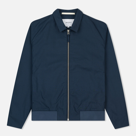 Мужская куртка Norse Projects Trygve Cotton Panama Navy
