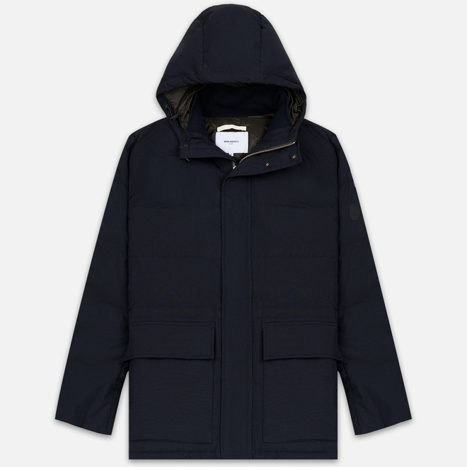 Мужская куртка Norse Projects Willum Dry Nylon Dark Navy