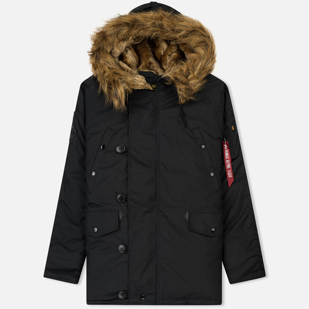 Мужская куртка парка Alpha Industries Explorer Black