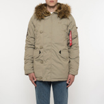 Мужская куртка парка Alpha Industries Explorer Khaki фото- 11