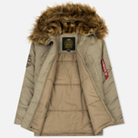 Мужская куртка парка Alpha Industries Explorer Khaki фото- 2