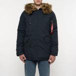 Мужская куртка парка Alpha Industries Explorer Replica Blue фото- 11