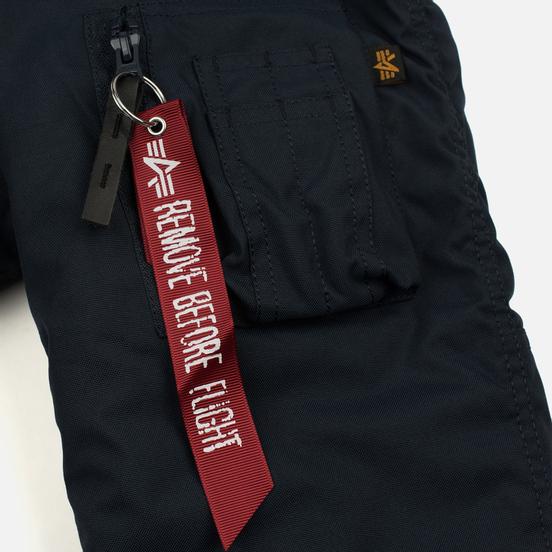 Мужская куртка парка Alpha Industries Explorer Replica Blue