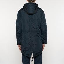 Мужская куртка парка Alpha Industries Hooded Fishtail CW TT Replica Blue фото- 8