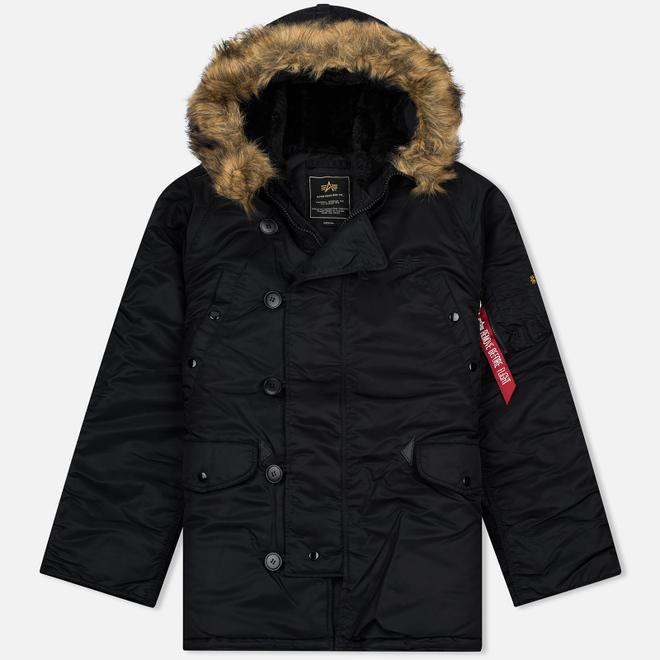 Мужская куртка парка Alpha Industries N-3B Black
