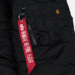 Мужская куртка парка Alpha Industries N-3B Black фото- 4