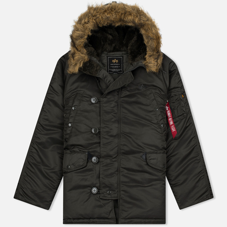 Alpha Industries N-3B Men's Parka Grey
