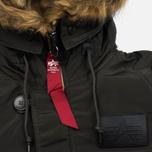 Мужская куртка парка Alpha Industries N-3B Inclement Replica Grey фото- 3