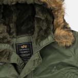 Мужская куртка парка Alpha Industries N-3B Sage Green фото- 1