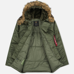 Мужская куртка парка Alpha Industries N-3B Sage Green фото- 2