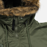 Мужская куртка парка Alpha Industries N-3B Sage Green фото- 4