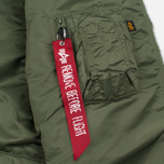 Мужская куртка парка Alpha Industries N-3B Sage Green фото- 7