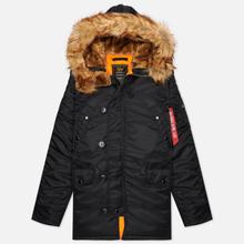 Мужская куртка парка Alpha Industries N3B VF 59 Black фото- 0