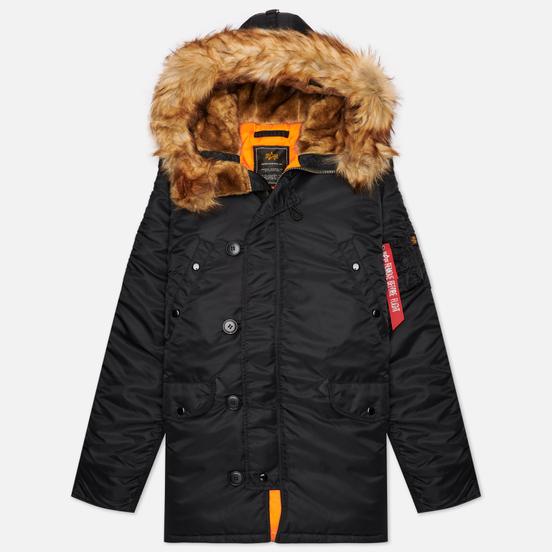 Мужская куртка парка Alpha Industries N3B VF 59 Black