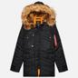 Мужская куртка парка Alpha Industries N3B VF 59 Black фото - 0