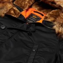 Мужская куртка парка Alpha Industries N3B VF 59 Black фото- 1