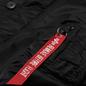Мужская куртка парка Alpha Industries N3B VF 59 Black фото - 2