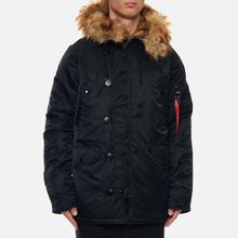 Мужская куртка парка Alpha Industries N3B VF 59 Black фото- 3