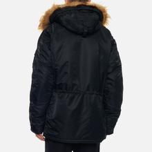 Мужская куртка парка Alpha Industries N3B VF 59 Black фото- 4