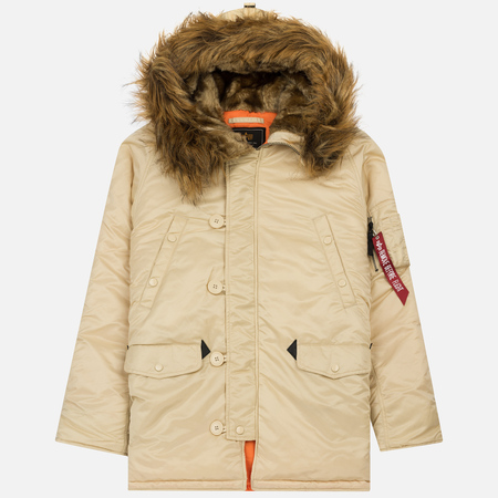 Мужская куртка парка Alpha Industries N3B VF 59 Carmel