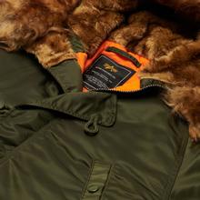 Мужская куртка парка Alpha Industries N3B VF 59 Dark Green фото- 1